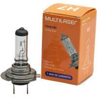 LAMP FAROL CARRO H7 12V 55W COMUM MULTILASER - Cod.: 101042