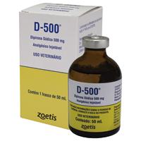 D-500 DIPIRONA INJ 500MG 50ML ZOETIS - Cod.: 101282