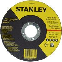 DISCO CORTE FINO INOX/METAL 4.1/2X 1,0X7/8 STANLEY - Cod.: 102636