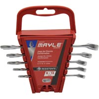 CHAVE COMBINADA JG 05PC MAYLE - Cod.: 102885