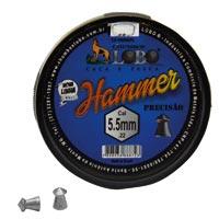CHUMBINHO ESPING 5,5MM DIABOLO HAMMER C/125 - Cod.: 104803