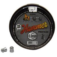 CHUMBINHO ESPING 6,0MM DIABOLO HAMMER C/100 - Cod.: 104804