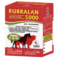 RUBRALAN 5000 INJ 10ML CALBOS - Cod.: 107260
