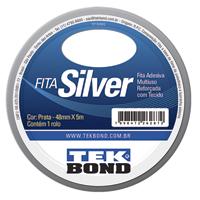 FITA ADESIVA 48X05M PRT SILVER TAPE TEKBOND - Cod.: 109724