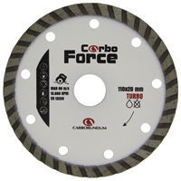 DISCO CORTE DIAMANT CARBORUNDUM TURBO - Cod.: 110219