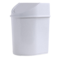 LIXEIRA PLAST C/ TAMPA BASC 12L JAGUAR - Cod.: 110380