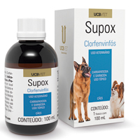 SUPOX CARRAPATICIDA 100 ML UCBVET - Cod.: 111359