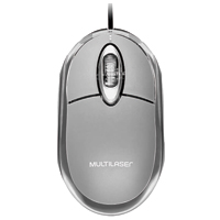 MOUSE OPTICO USB CLASSIC BOX PRT MULTILASER #N - Cod.: 113869