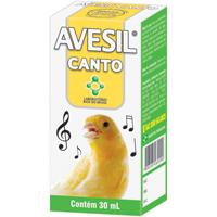 AVESIL CANTO 30ML P/ PASSAROS CALBOS PET - Cod.: 114867