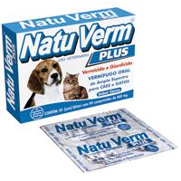 NATU VERM PLUS 660MG VETBRAS - Cod.: 114908