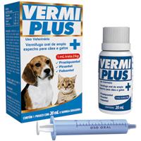 VERMIPLUS 020ML VETBRAS - Cod.: 114909