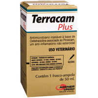 TERRACAM PLUS INJ 50ML UNIAO QUIMICA - Cod.: 114929