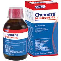 CHEMITRIL SOLUCAO ORAL 10% 100ML CHEMITEC - Cod.: 115419