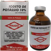IODETO DE POTASSIO 10% 50ML PRADO - Cod.: 115600