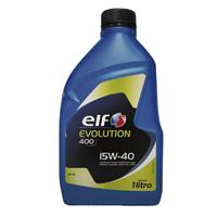 OLEO MOTOR 15W40 EVOLUTION 400 SL 1L ELF - Cod.: 116312