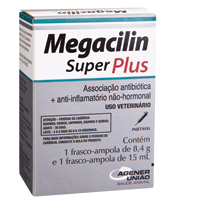 MEGACILIN SUPER PLUS INJ 15ML UNIAO QUIMICA #I - Cod.: 116426