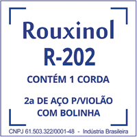 CORDA VIOLAO ACO INOX SI R202 ROUXINOL - Cod.: 116512