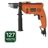 FURADEIRA IMP 1/2 560W 127V C/ MAL BLACK DECKER #N - Cod.: 116732