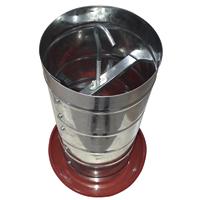 COMEDOURO AVES TUB 10KG PRATO PLAST ZATTI - Cod.: 116824