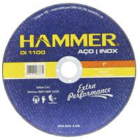 DISCO CORTE INOX 7X1,6X7/8 HAMMER - Cod.: 117127