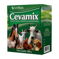 CEVAMIX SUPLEMENTO MINERAL 200G VETBRAS - Cod.: 119185
