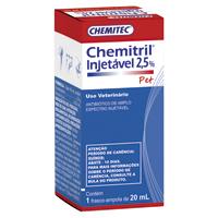 CHEMITRIL INJ 2,5% 20ML CHEMITEC PET - Cod.: 119334