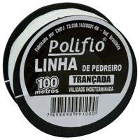 LINHA PEDREIRO POLIFIO 100M - Cod.: 35447