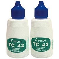TINTA P/CARIMBO AZL TC-42ML PILOT #C - Cod.: 5032