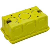 CAIXA LUZ PLASTICA 4X2 AML MONDIALE - Cod.: 75947