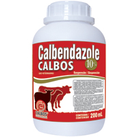 CALBENDAZOLE ORAL 10% 200ML CALBOS - Cod.: 86653