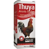 THUYA AVICOLA 020ML SIMOES PET - Cod.: 86976