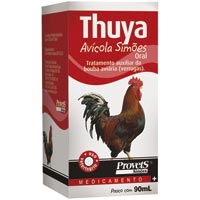 THUYA AVICOLA 090ML SIMOES PET - Cod.: 86977