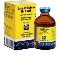 ANESTESICO INJ 50ML BRAVET - Cod.: 91167
