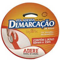 FITA DEMARCACAO SOLO 50X15M VRM ADERE - Cod.: 93522