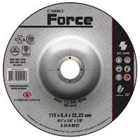 DISCO DESBASTE 4.1/2X1/4X7/8 CARBOFORCE #N - Cod.: 95596