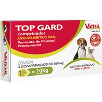 VERMIFUGO TOP GARD VANSIL PET - Cod.: 98792