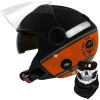 CAPAC NEW ATOMIC 58 HD SKULL RIDERS PRO TORK - Cod.: 99403