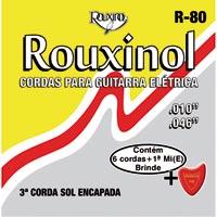 ENCORDOAMENTO ACO P/ GUITARRA ROUXINOL - Cod.: 99522