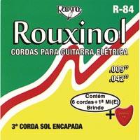 ENCORDOAMENTO ACO P/ GUITARRA ROUXINOL - Cod.: 99523
