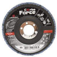 DISCO FLAP 115X22,2MM GRAO 080 CARBORUNDUM - Cod.: 99733